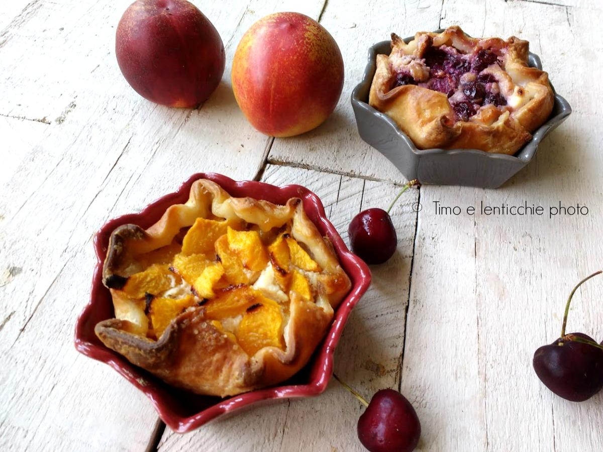 Tortine di sfoglia alla frutta gluten free
