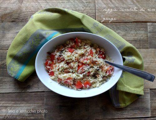 Insalata di riso vegetale