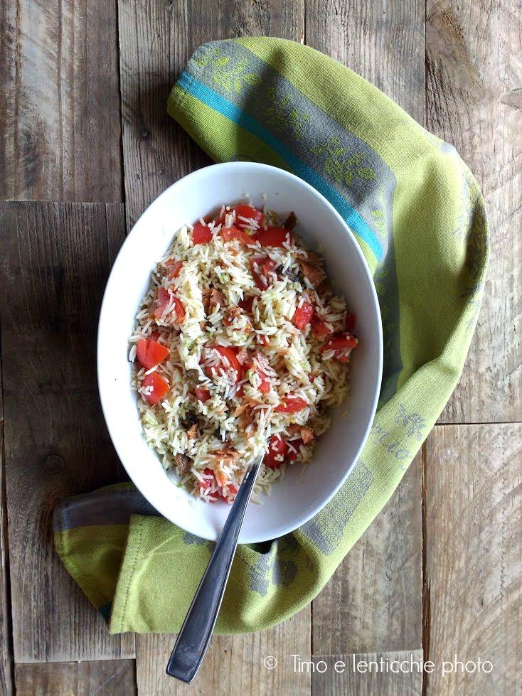 veggie insalata di riso gange