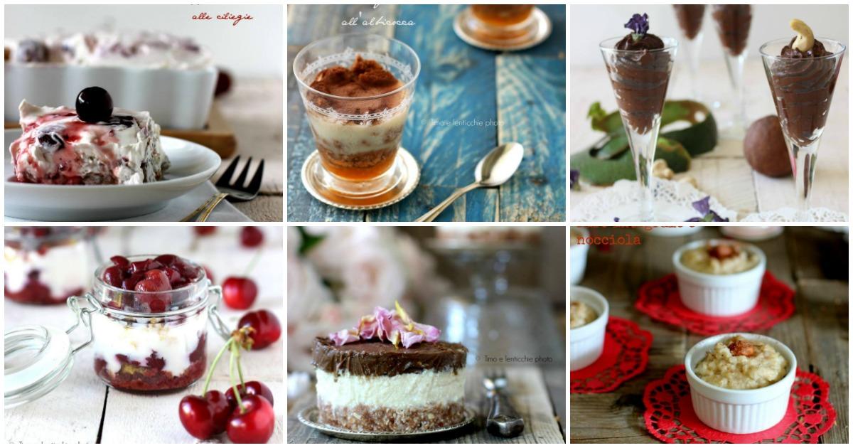 Raccolta ricette dolci al cucchiaio