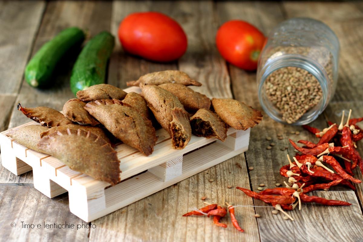 Ricetta panzerotti vegan alle lenticchie