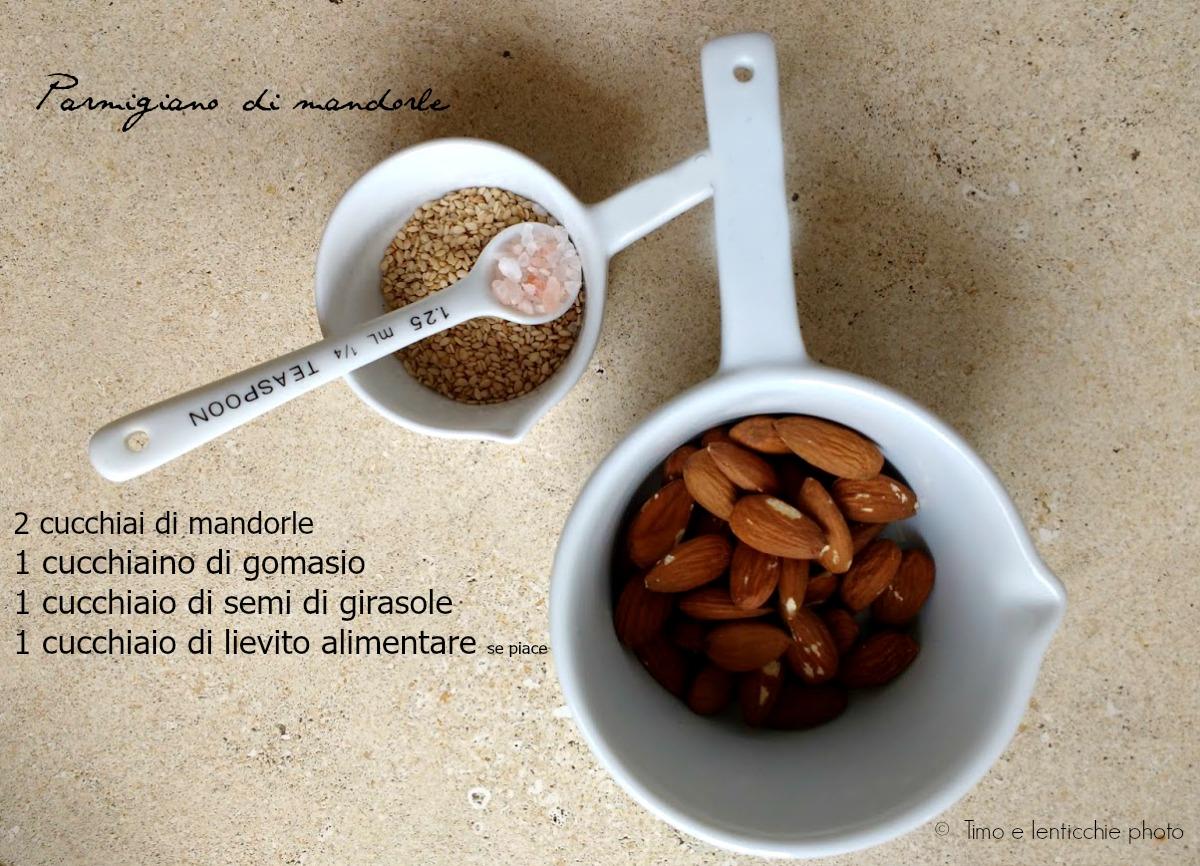 parmigiano di mandorle