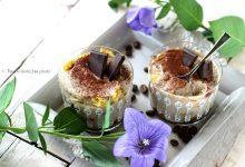 Tiramisu caffè cioccolato e tofu vellutato