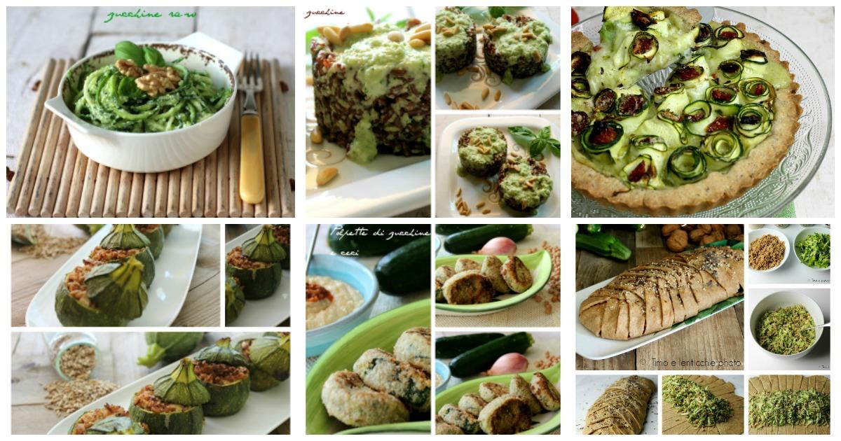 Ricette con le zucchine leggere e vegetariane