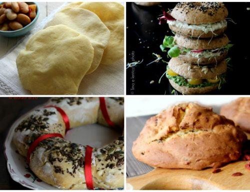 Pane e lievitati dolci e salati dal mondo