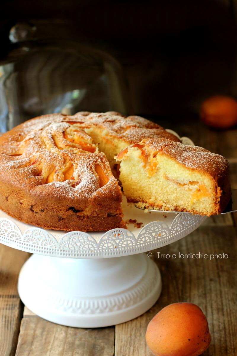 Torta albicocche gluten free
