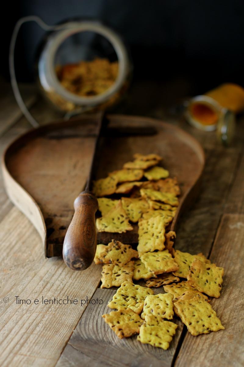 crackers curcuma
