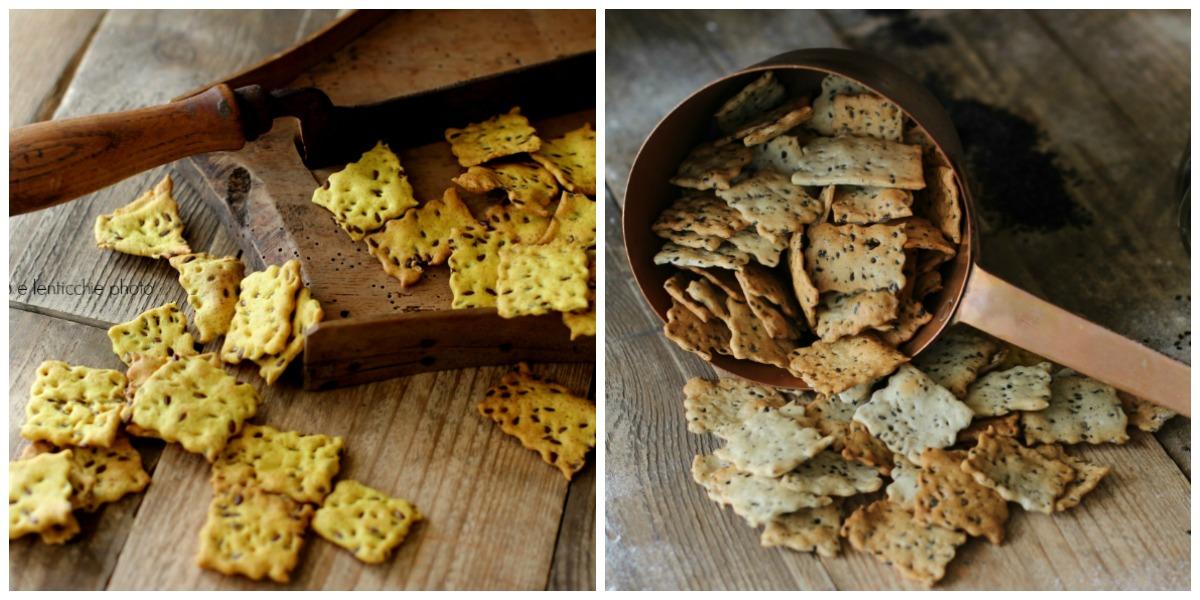 Come preparare i crackers croccanti con lievito secco 2