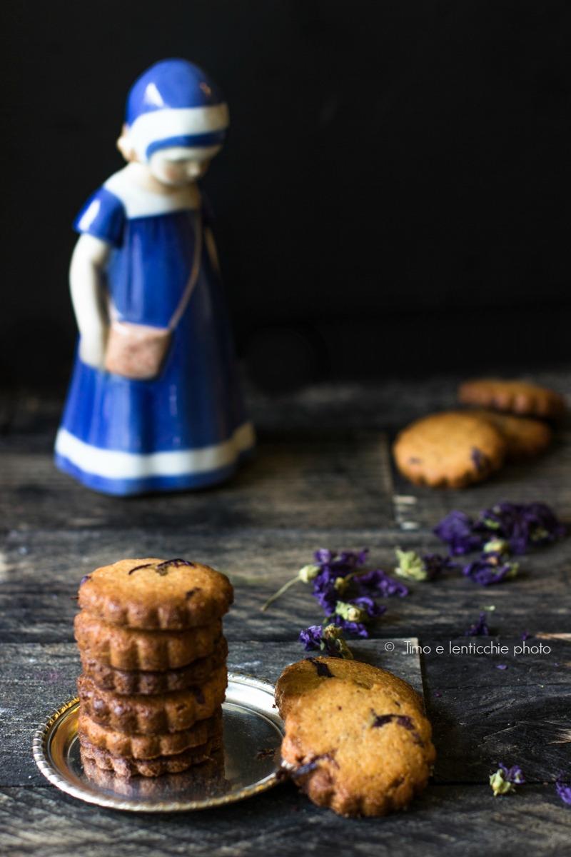 biscotti d farro integrale alla malva