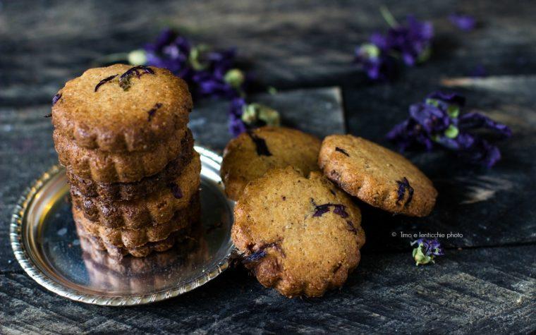 Biscotti di farro integrale alla malva