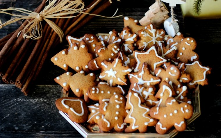 Ricetta biscotti di Natale e gingerbread con spezie