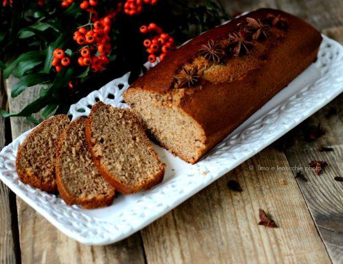 Pan d'epices o pan di spezie senza burro e miele