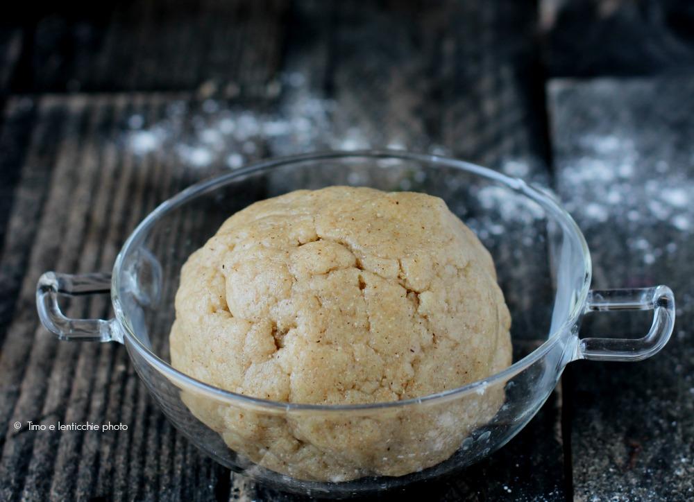 Pasta frolla senza burro e senza uova friabile