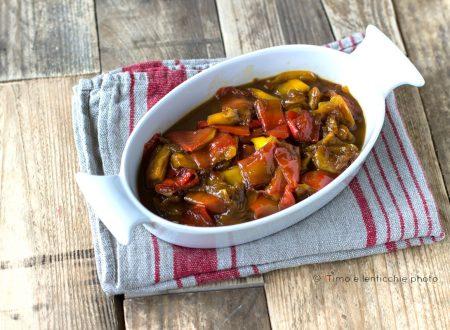 Peperoni in agrodolce ricetta semplice