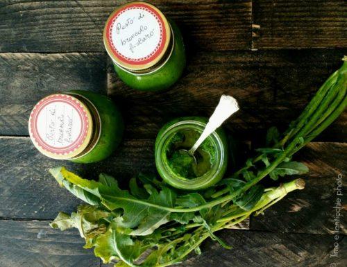 Pesto di broccolo fiolaro di Creazzo