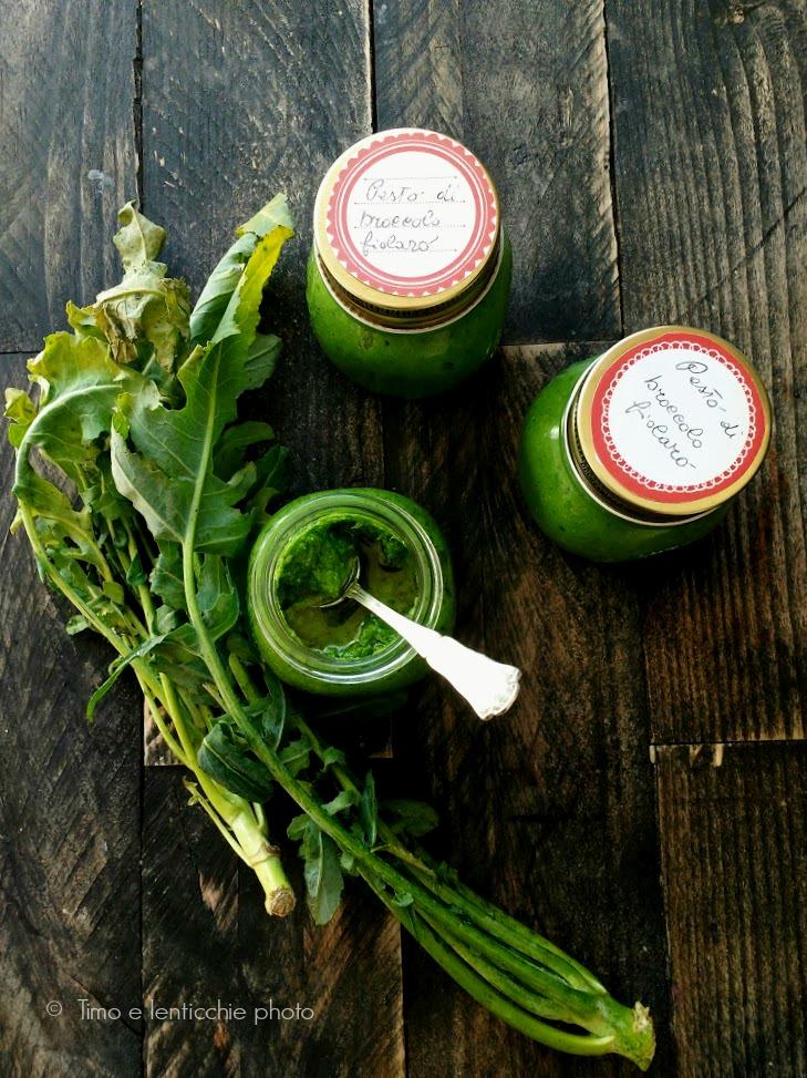 Pesto di broccolo fiolaro di Creazzo 1