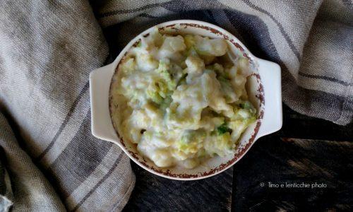 Ramequin di crema al broccolo romanesco