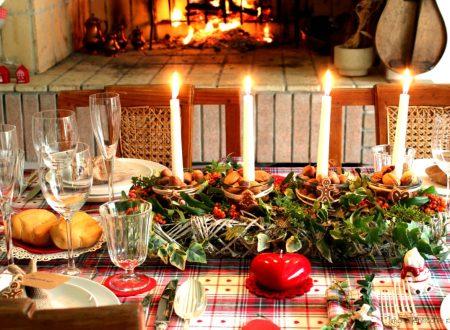La tavola della vigilia di Natale e mise en place