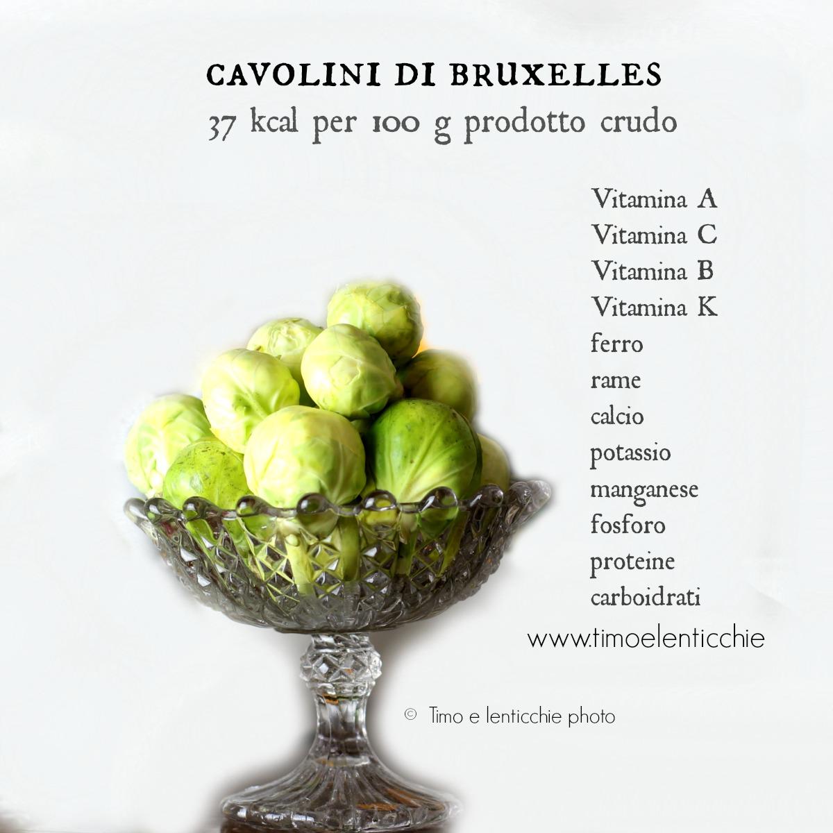 cavolini o cavoletti di Bruxelles