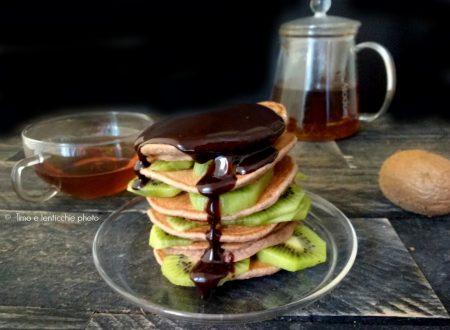 Pancakes al farro Spelta di Sovizzo e kiwi