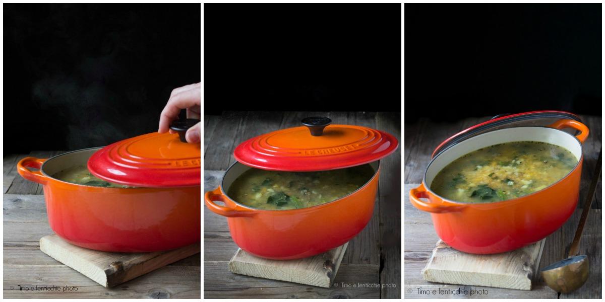 Zuppa del contadino avena e cavolo navone