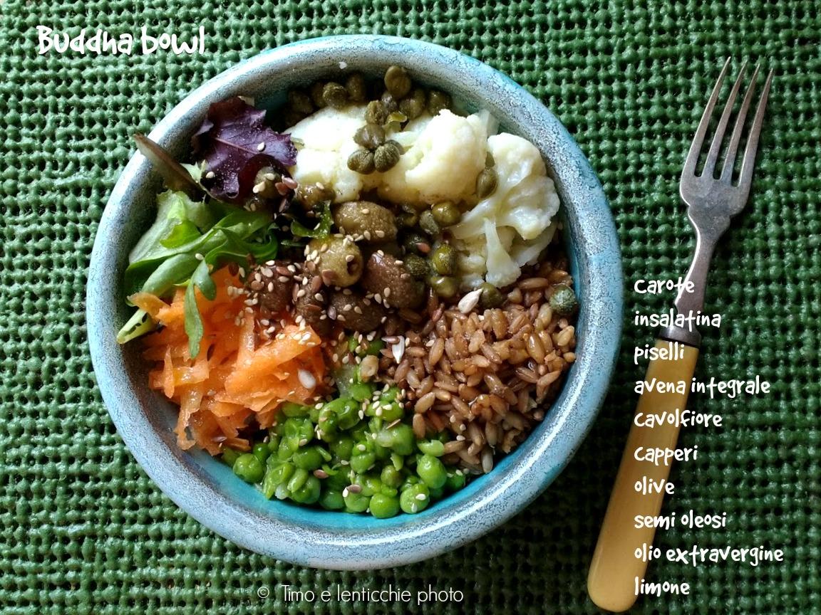 Buddha bowl pranzo veloce e sano 1