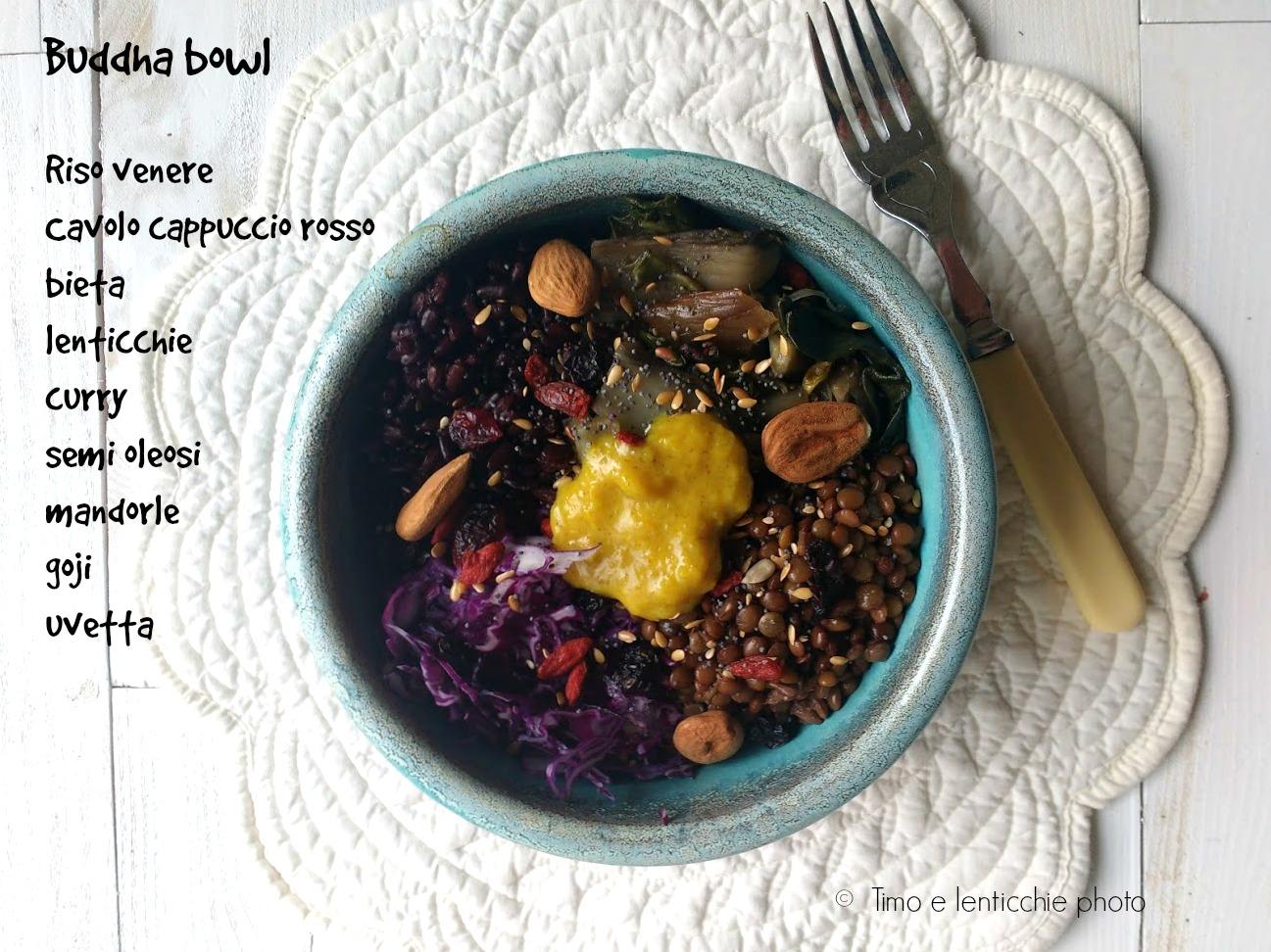 Buddha bowl pranzo veloce e sano 2