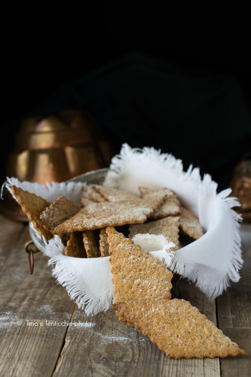 Biscotti di farro spelta integrale finte chiacchere 1