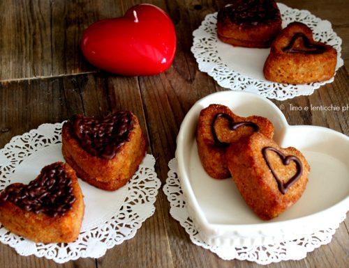 Dolcetti a cuore mandorle e cocco senza glutine vegan #iononspreco