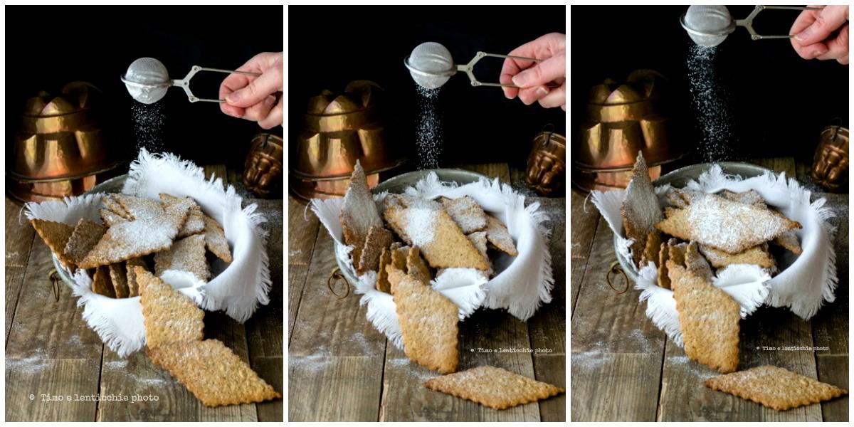 Biscotti di farro spelta integrale finte chiacchere 2