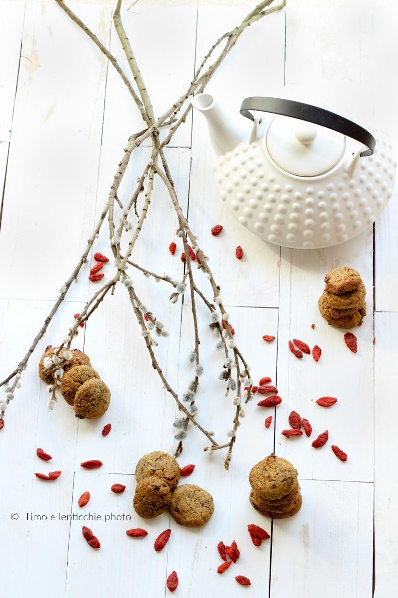 Biscotti di miglio senza glutine alle bacche di goji 2