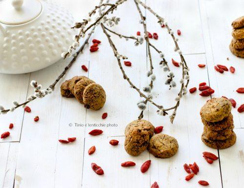 Biscotti di miglio senza glutine alle bacche di goji