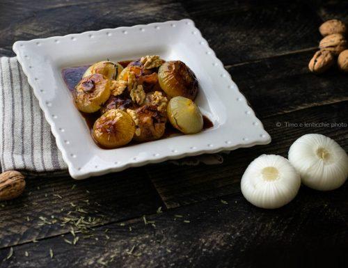 Cipolline caramellate al miele ricetta veloce
