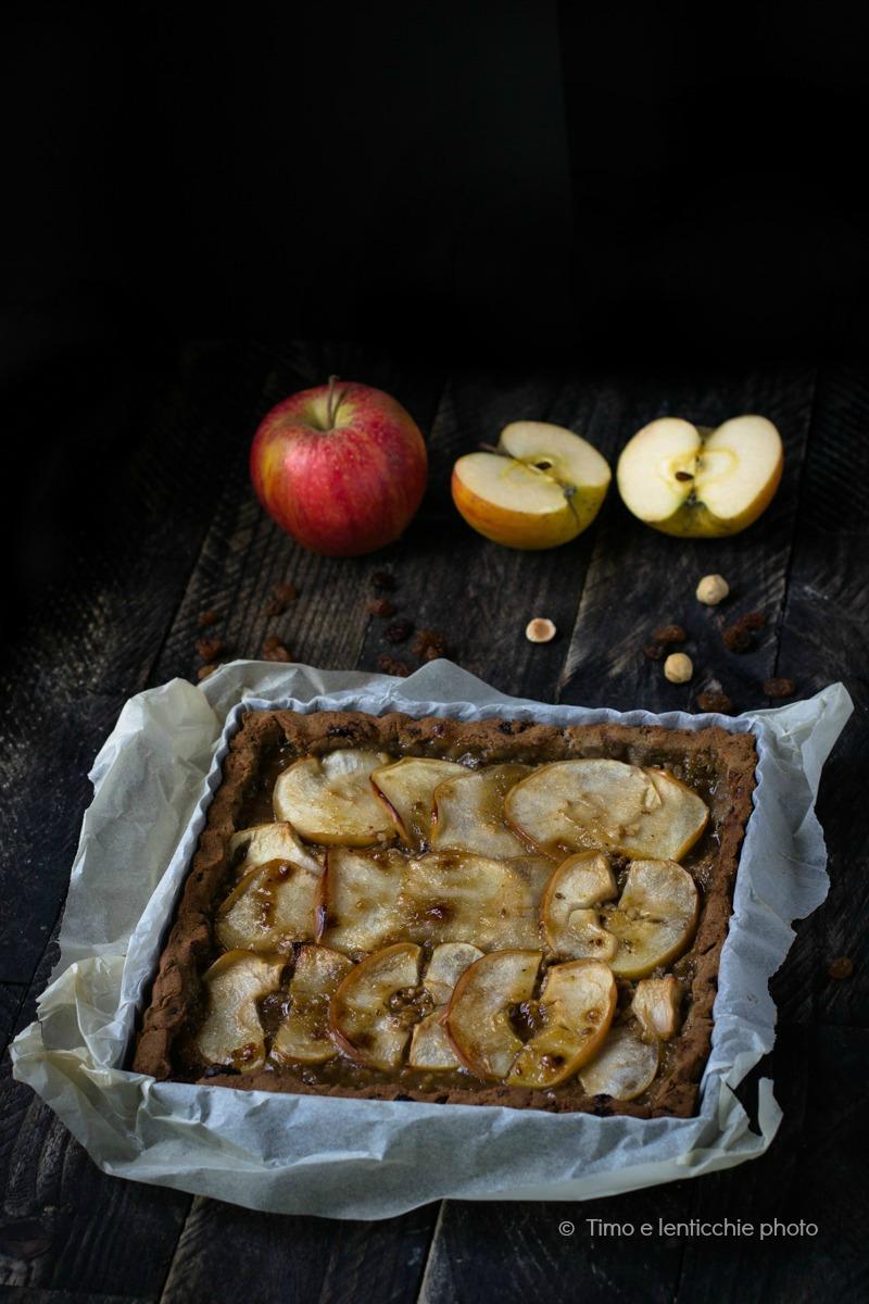 crostata di mele senza glutine e senza zucchero 8
