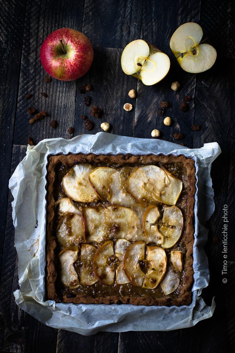 Crostata di mele senza glutine e senza zucchero 1