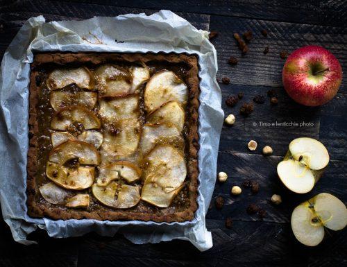 Crostata di mele senza glutine e senza zucchero