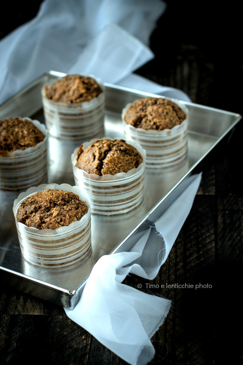 Muffins al grano saraceno senza zucchero senza burro 1
