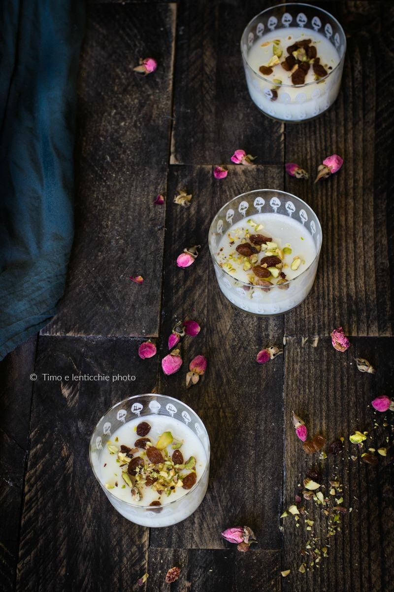 Muhallabia dolce dal medio oriente senza glutine 2