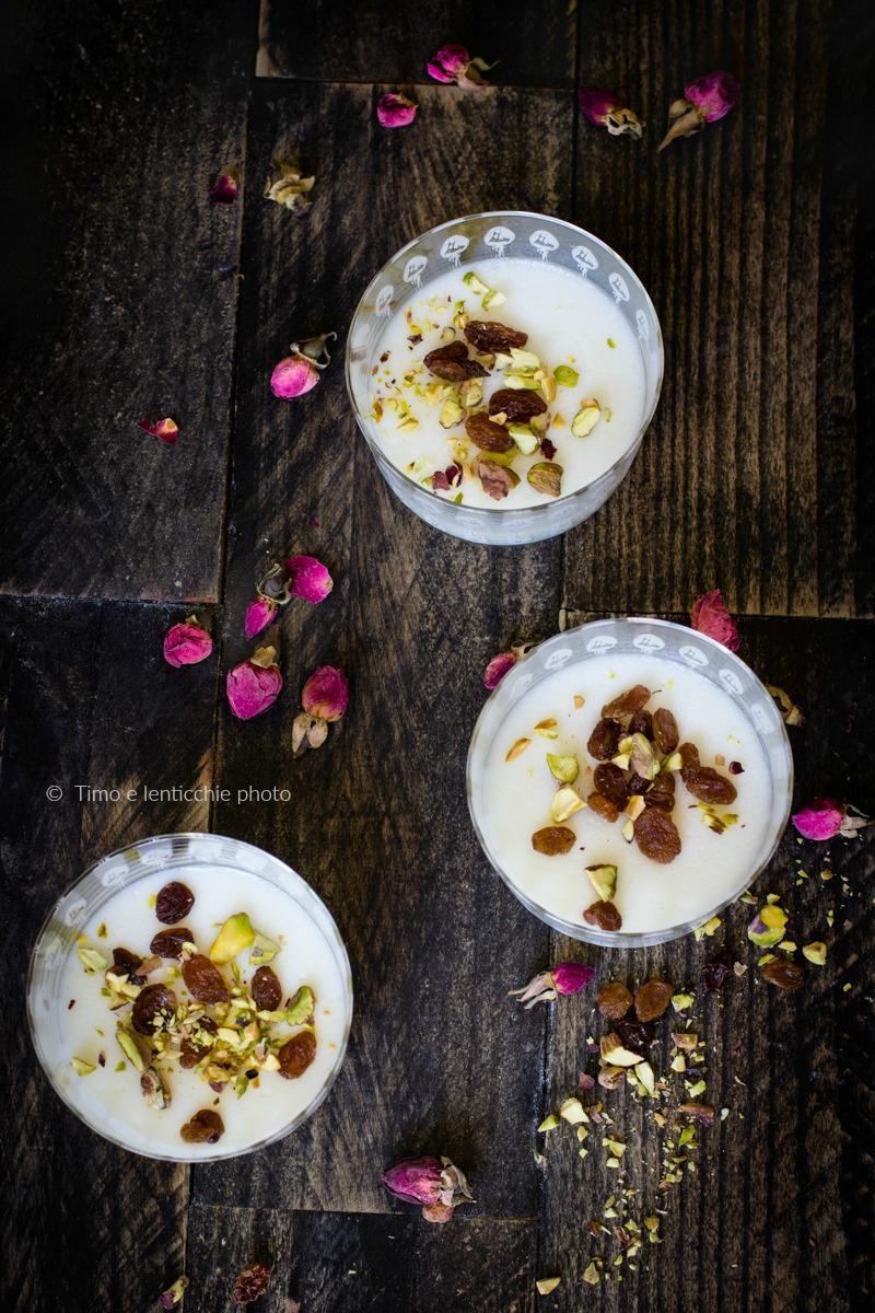 Muhallabia dolce dal medio oriente senza glutine 3