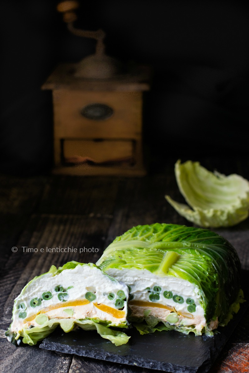La terrina verde di una vegetariana 5