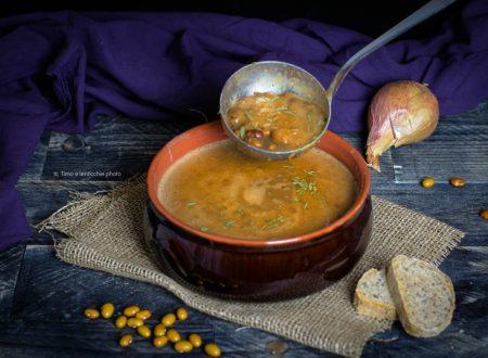 Zuppa di fagioli tabacchini ricetta tradizionale