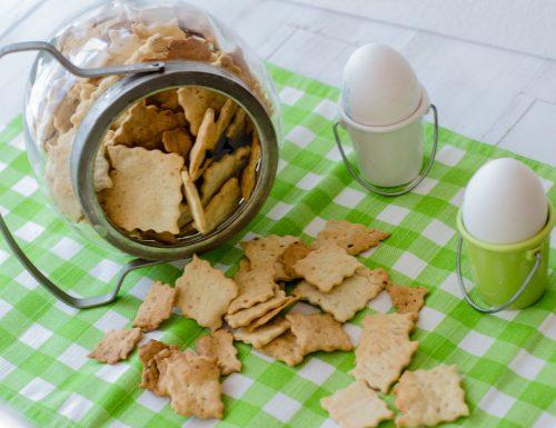 Crackers farina di teff ricetta lievito madre e lievito secco