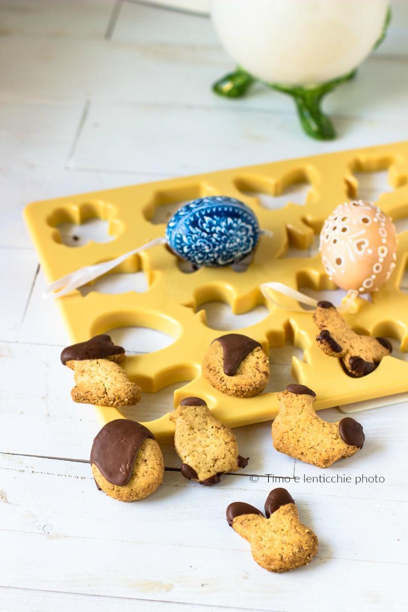 Biscottini semplici di Pasqua frolla senza burro e senza uova 1