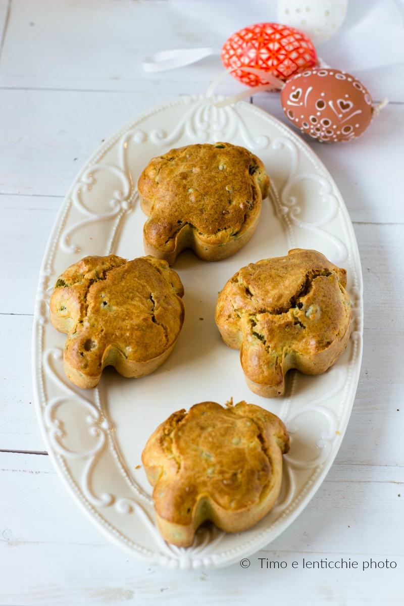 muffin salati alle verdure piccole colombe pasquali 2