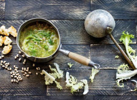MInestra di fagioli e scarola ricetta di Totò
