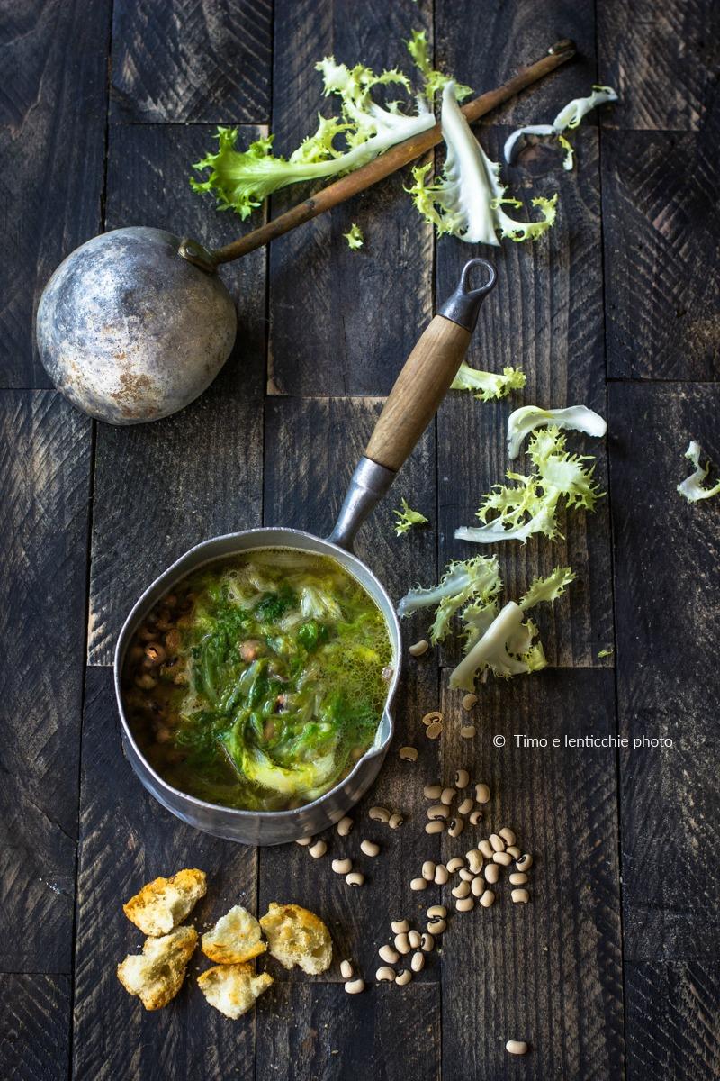 MInestra di fagioli e scarola ricetta di Totò 3