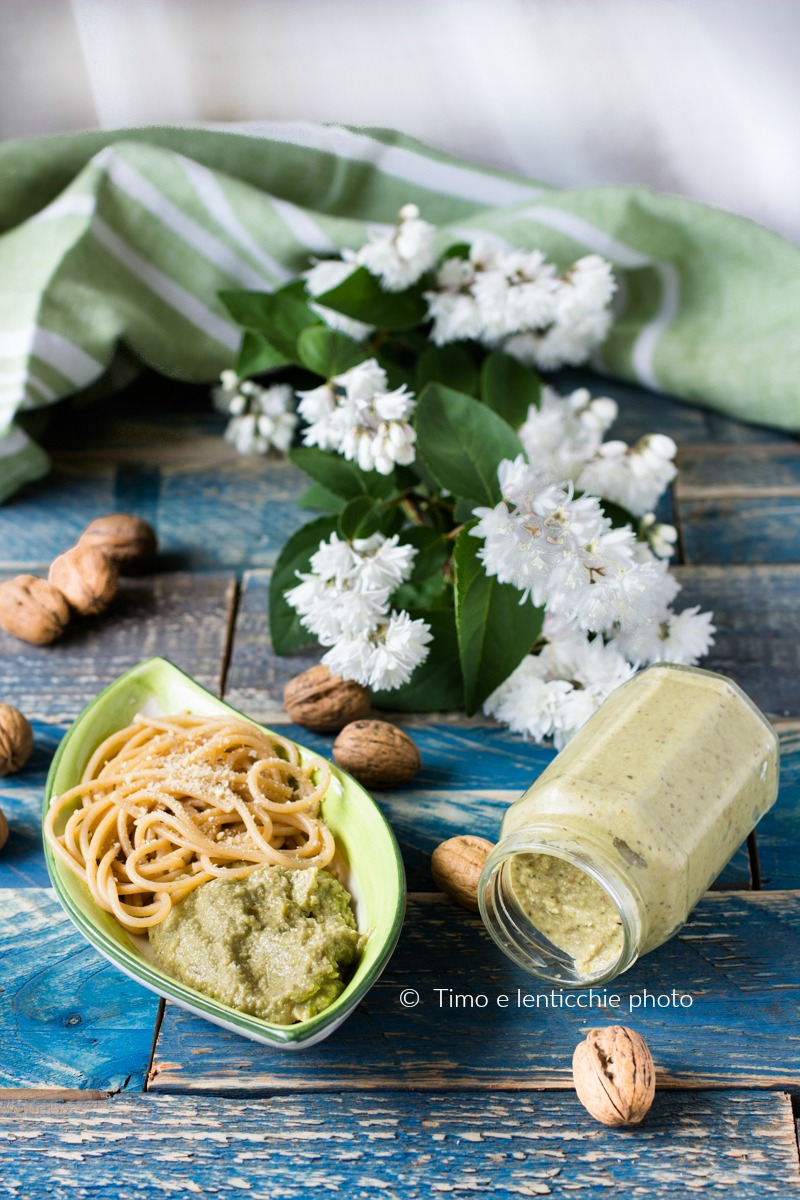 pesto di asparagi alle mandorle 1