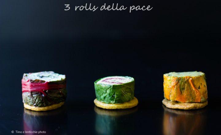 3 rolls della pace ricetta roller finger food
