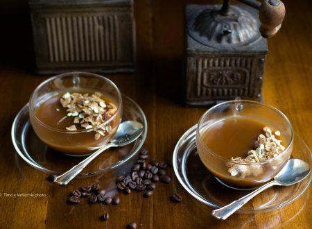 Crema fredda al caffè con muesli
