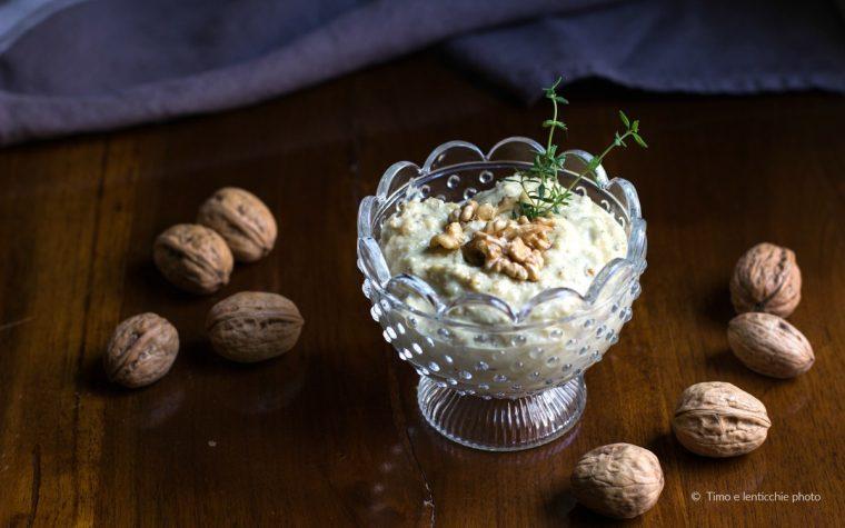 Salsa di noci senza lattosio ricetta vegetale pesto